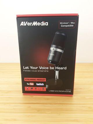 Micrófono profesional usb avermedia am310