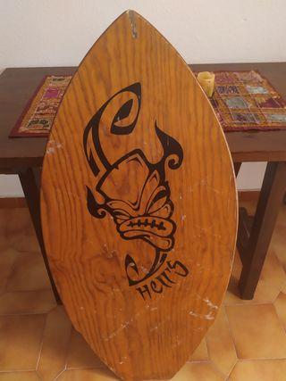 Tabla de skimboard/Tabla de madera/Tabla de orilla