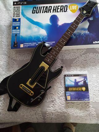 juego guitar hero live ps3