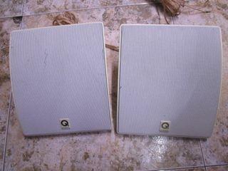Pareja de altavoces q acoustics de exterior