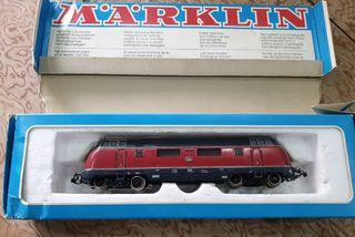 H0 Marklin 3021 locomotora tren en caja