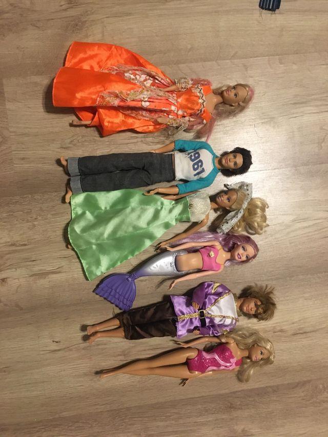 Pack muñecas Barbies i Ken