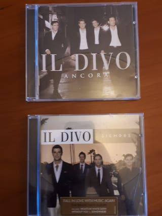 Música Il Divo disco Ancora y Siempre pack oferta