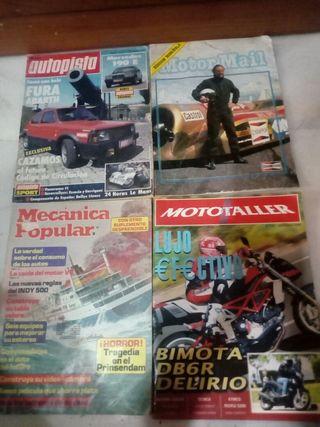 lote revistas motor