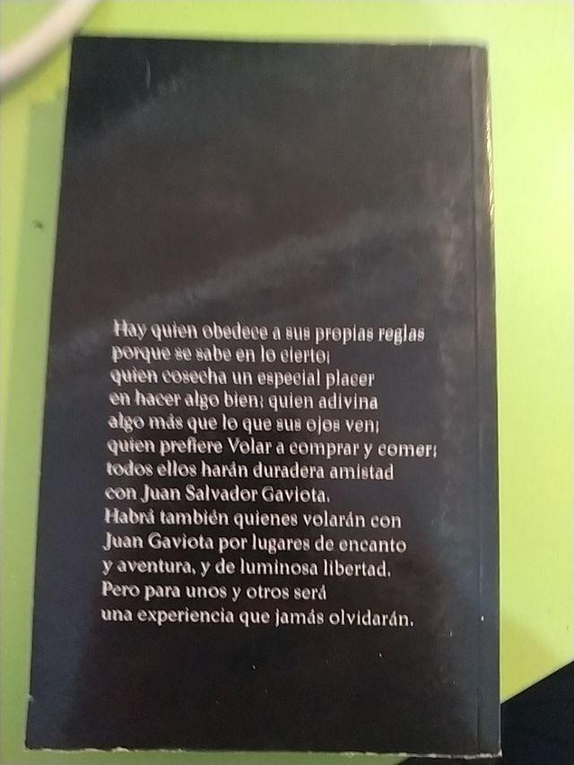 Juan Salvador Gaviota del autor Richard Bach