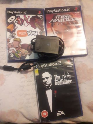 ps2 game with (eye play )