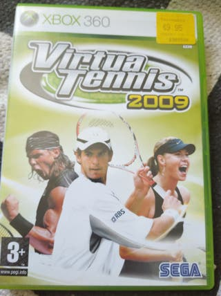 juegos Xbox 360 virtua tennis 2009 topspin4