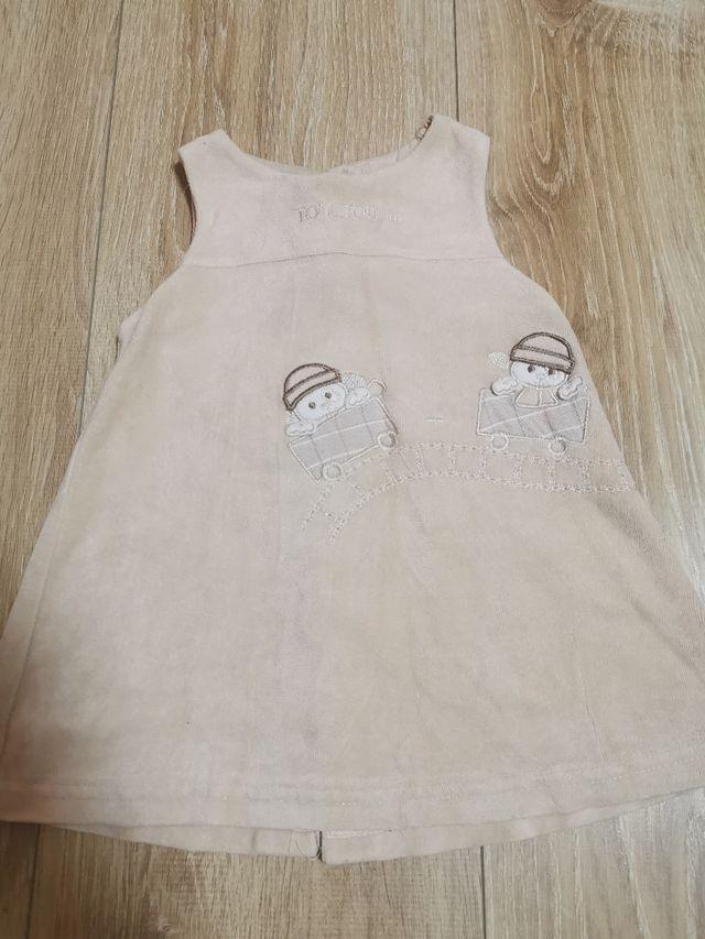 vestido para niña de 12mes