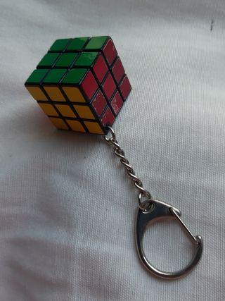 llavero de cubo de rubik miniatura 3x3x3