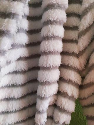 Bata corta polar talla M