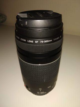Objetivo Canon 75-300