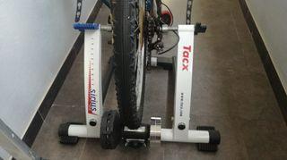 Rodillo bicicleta Tacx Sirius.