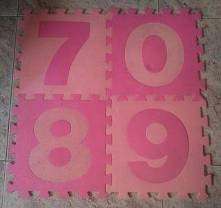 Puzzle suelo goma 20 piezas de 33x33
