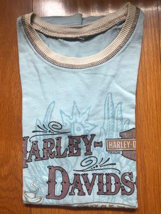 Camiseta Harley Davidson, mujer, talla S