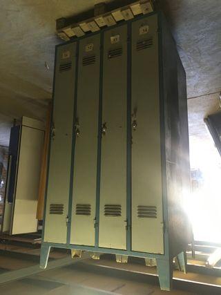 Taquilla metalica de 4 puertas, Ref: 270824