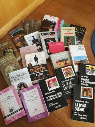 Lote de libros Todos por 15€!!