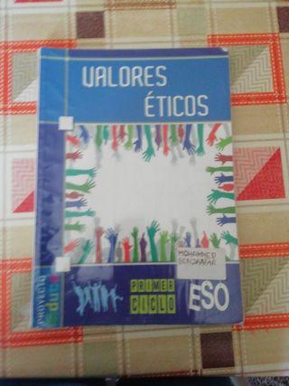 Libro de valores éticos 1°Eso