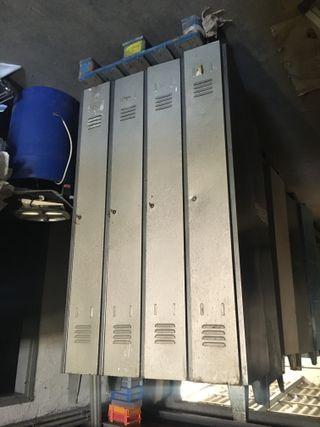 Taquilla metalica de 4 puertas, Ref: 270825
