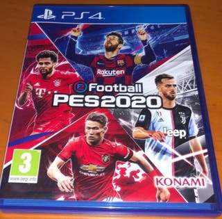 juego PlayStation 4 football pes 2020