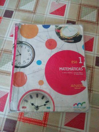 Libro matemáticas 1° eso