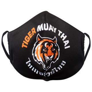 Mascarilla de Tela Lavable Tiger Muay Thai