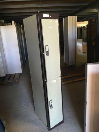 Taquilla metalica de 2 puertas, Ref: 270830