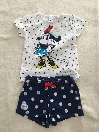 Camiseta + Short Disney Baby