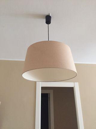 Lámpara de techo de lino (tengo 4)