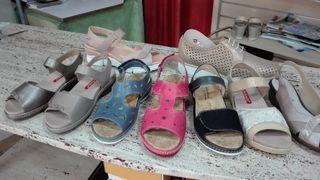 sandalias Pie santo