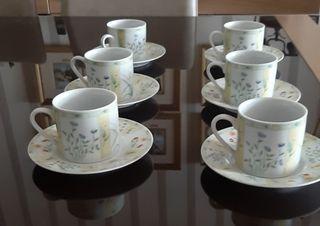 Juego de tazas de cafe a estrenar