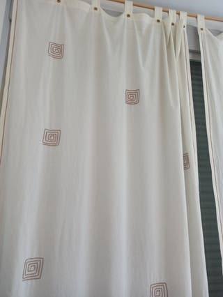 cortinas y se regala barra