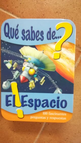 Juego Quiz sobre el espacio