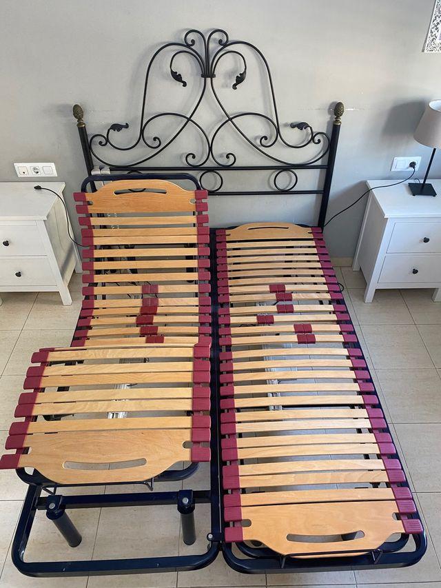 Cabecero de cama en Forja maciza