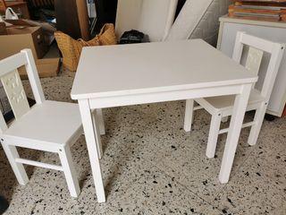 Mesita de Ikea Latt