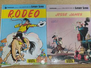 2 libros de Lucky Luke