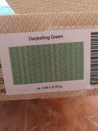 Fular tejido Hoppediz Darjeeling Green