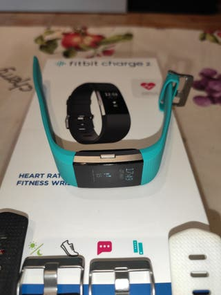 fitbit charge 2 con 4 correas