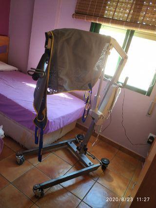 grua para transporte de personas enfermas