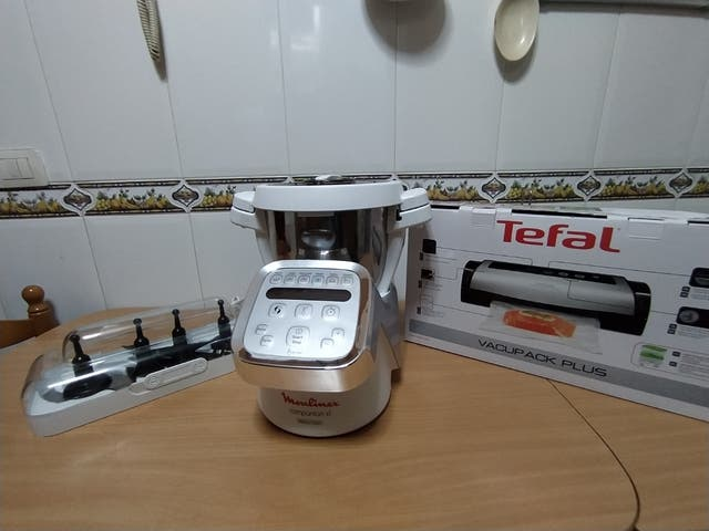 robot de cocina+plastificadora alimentos