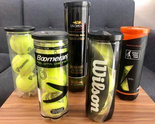 Pack 16 pelotas de tenis y pádel +Regalo raqueta!