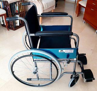 moviclinic alcazar silla silla de ruedas plegables