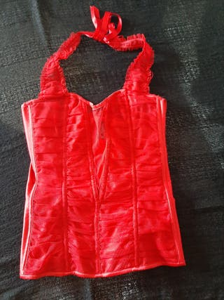 ANN SUMMERS Red corset