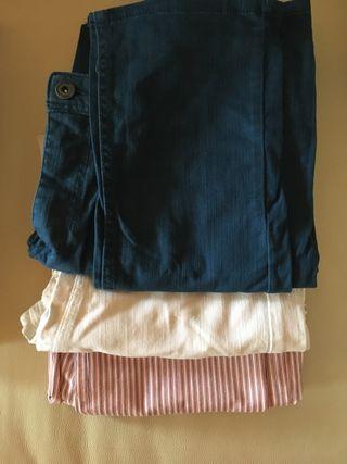 Pantalones diferentes tallas y colores