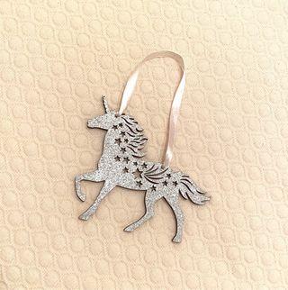 Unicornio decorativo para colgar