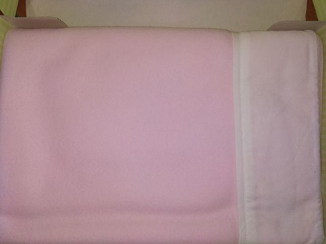 Nueva mantita cuna rosa