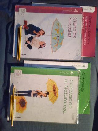 Libros Santillana cuarto de primaria