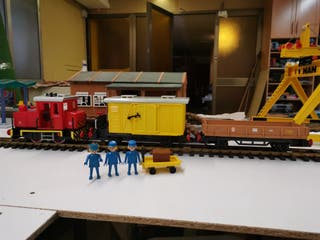 Tren playmobil 4025 LGB
