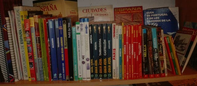 Guías de viaje SUPER LOTE «««Libros del viajero»»»