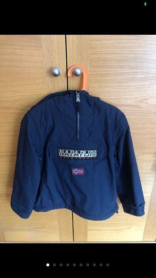 abrigo napapijri colo azul talla 06 116-120