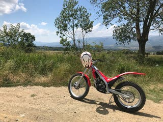 Moto gas gas 70cc
